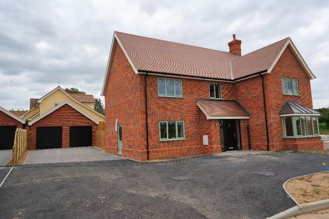 Thumbnail Detached house for sale in Back Lane, Badwell Ash, Bury St. Edmunds