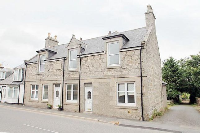 Thumbnail End terrace house for sale in Main Street, New Byth, Turriff