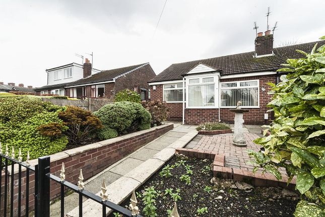 Thumbnail Semi-detached bungalow to rent in Mendip Close, Chadderton