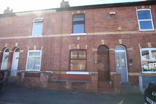 Thumbnail Terraced house to rent in Cross Street, Urmston, Manchester
