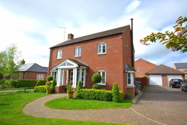 Thumbnail Detached house for sale in Bliss Close, Nether Heyford, Northampton