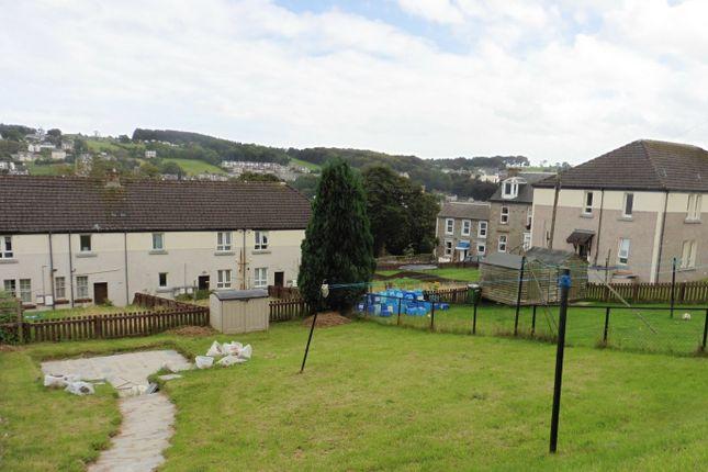 Rear Garden of 22 Longhill Terrace, Rothesay, Isle Of Bute PA20