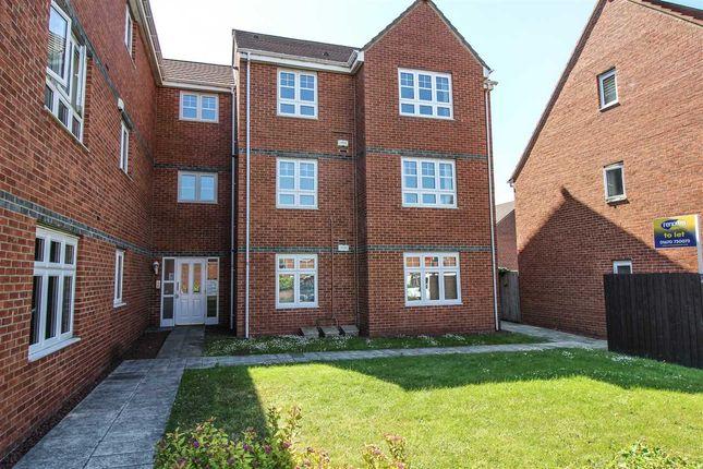 Thumbnail Flat to rent in Oxford Close, West Farm Court, Four Lane Ends, Longbenton