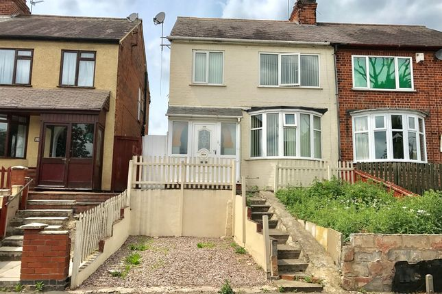 Thumbnail Semi-detached house for sale in Blackbird Road, Leicester