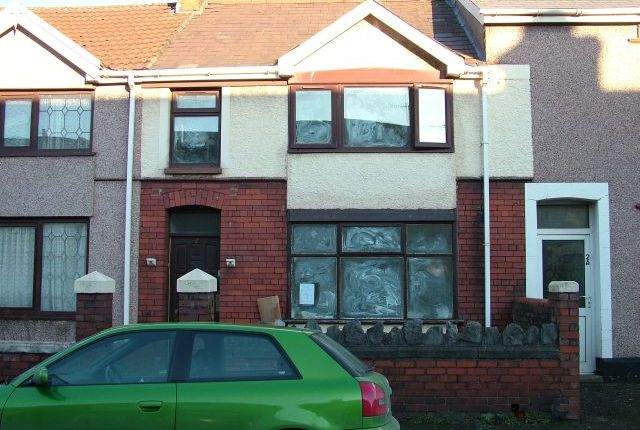 Thumbnail Terraced house to rent in Mansel Street, Port Talbot