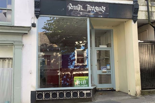 Thumbnail Retail premises to let in 23, Higher Market Street, Penryn