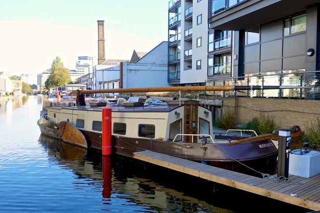 Thumbnail Houseboat to rent in Eagle Wharf Road, Islington