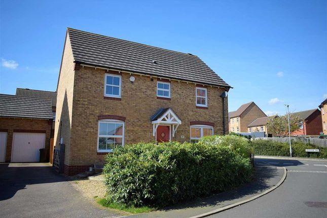 Thumbnail Detached house for sale in Johnson Avenue, Wellingborough
