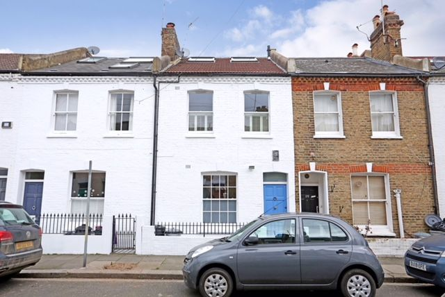 Thumbnail Terraced house to rent in Orbain Road, Fulham, London