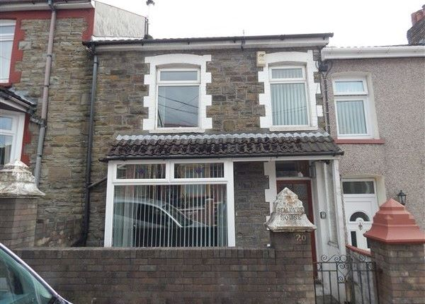 Thumbnail Terraced house for sale in Cwm Cottage Road, Six Bells