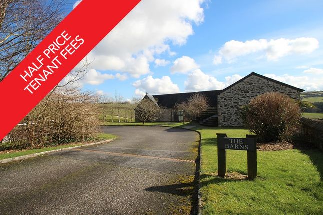 Thumbnail Barn conversion to rent in East Pitten Farm, Plympton, Plymouth