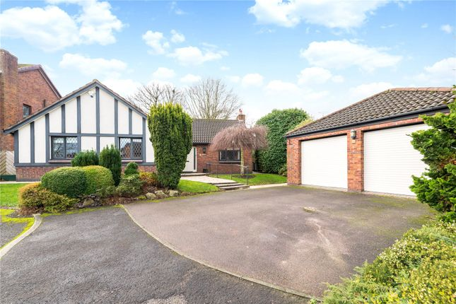 Thumbnail Detached bungalow to rent in Repton Close, High Legh, Knutsford, Cheshire