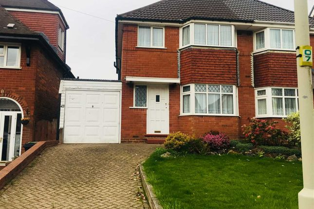 Thumbnail Semi-detached house to rent in Shenstone Valley Road, Halesowen