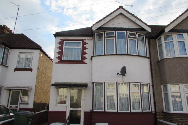 Thumbnail End terrace house for sale in Tiverton Road, Wembley