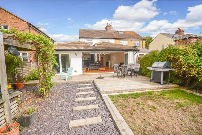 Thumbnail Semi-detached house for sale in Foster Road, Kempston