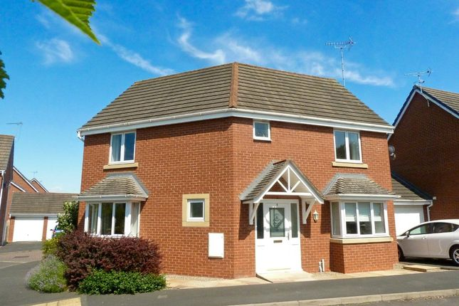 Thumbnail Detached house to rent in Tyldesley Way, Nantwich