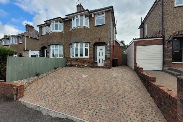 Thumbnail Semi-detached house to rent in Beaufort Place, Newport