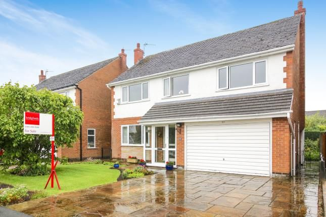 Thumbnail Detached house for sale in Cheviot Road, Hazel Grove, Stockport, Greater Manchester