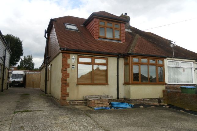 Thumbnail Semi-detached bungalow for sale in The Crossway, Portchester