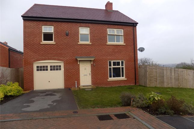 Thumbnail Detached house for sale in Zouche Close, Heanor, Derbyshire