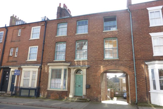 Thumbnail Terraced house for sale in Derngate, Northampton