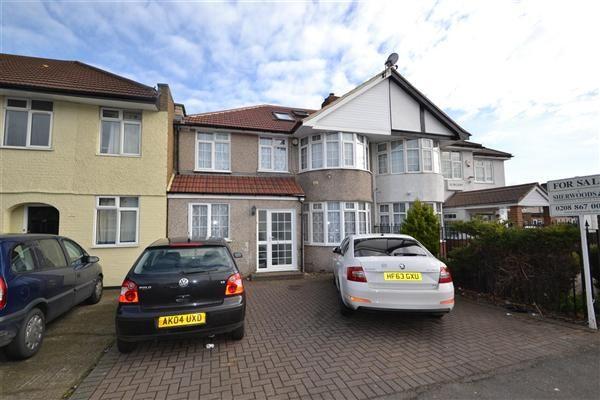 Semi-detached house for sale in Harlington Road East, Feltham