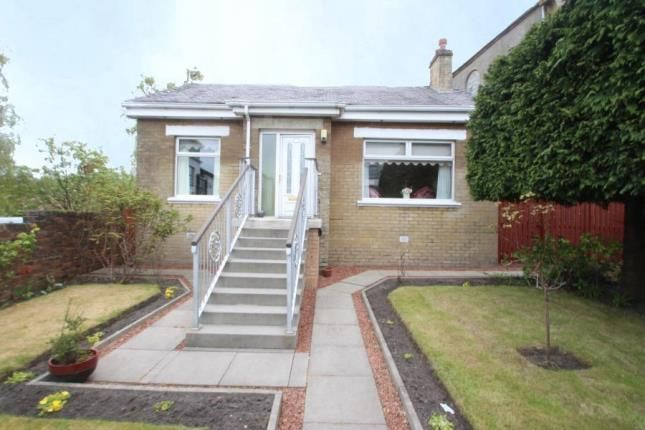 Thumbnail Bungalow for sale in North Bridge Street, Airdrie, North Lanarkshire