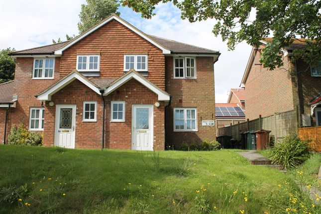 Thumbnail Terraced house to rent in Woodsgate Park, Bexhill-On-Sea
