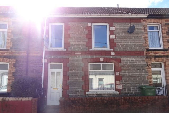 Thumbnail Terraced house to rent in Rees Terrace, Treforest, Pontypridd