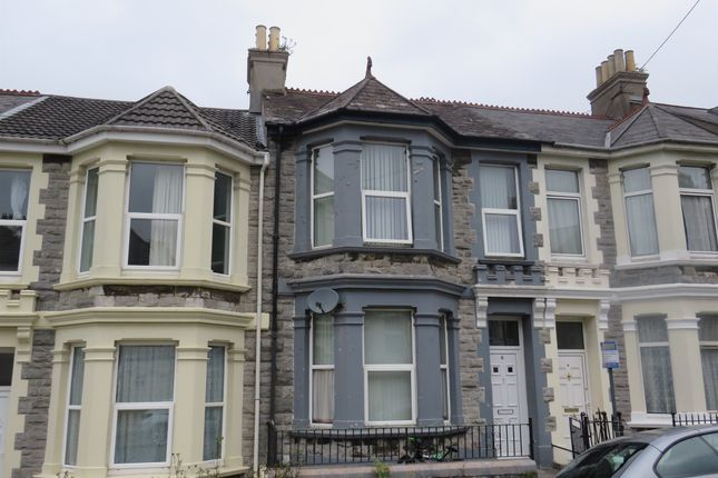 Thumbnail Terraced house for sale in Glen Park Avenue, Mutley, Plymouth