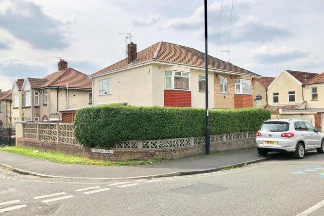 Thumbnail Semi-detached house to rent in Ridgeway Road, Fishponds, Bristol