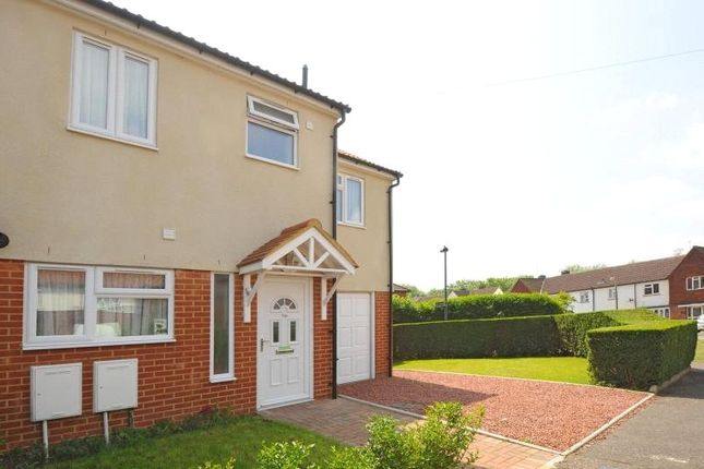 Thumbnail End terrace house for sale in Mill Farm Crescent, Whitton Borders, Middlesex