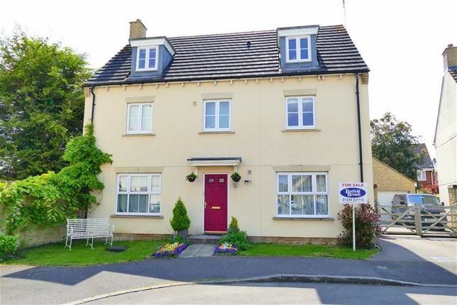 Thumbnail Detached house for sale in Stickleback Road, Lansdowne Park, Calne