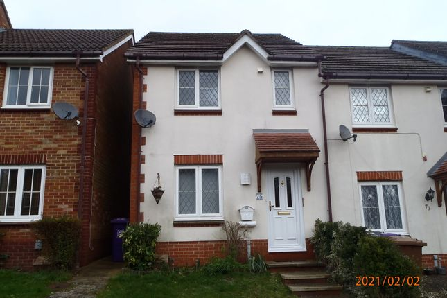 Thumbnail End terrace house to rent in Fairfield Way, Stevenage