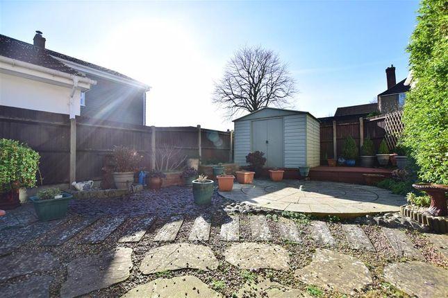 Rear Garden of Poplar Grove, Allington, Maidstone, Kent ME16