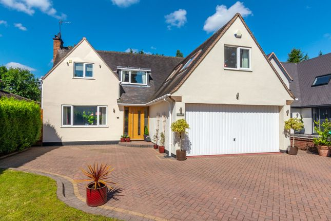 Thumbnail Detached house for sale in Ashlawn Crescent, Solihull