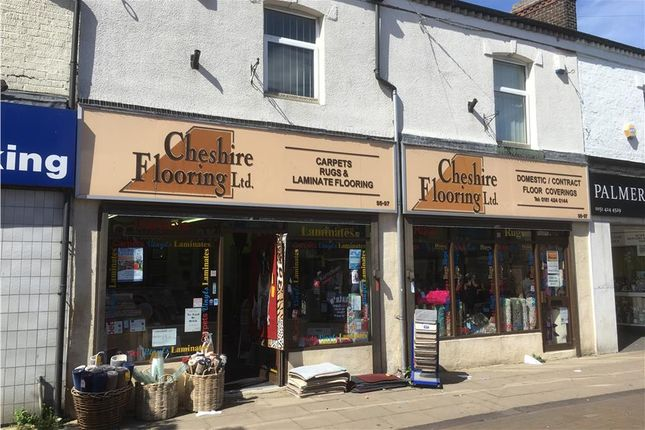 Thumbnail Retail premises for sale in 97 Widnes Road, Widnes, Cheshire