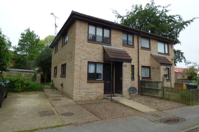 Thumbnail End terrace house to rent in Carnoustie Drive, Lowestoft
