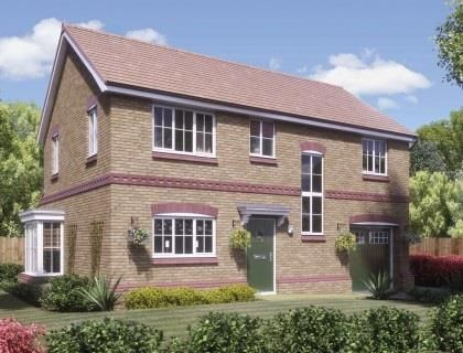 Thumbnail Detached house for sale in Paddock Mount, Dawley, Telford