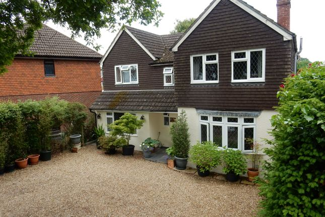 Thumbnail Detached house for sale in Mytchett Road, Mytchett, Camberley