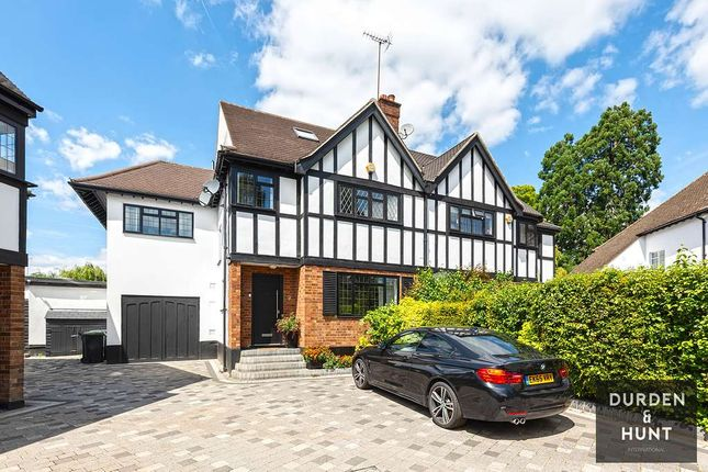 Thumbnail Semi-detached house for sale in Newnham Close, Loughton
