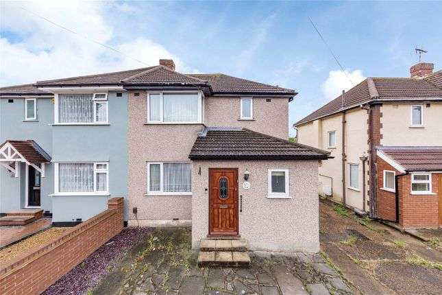Thumbnail Semi-detached house for sale in Lancaster Drive, Hornchurch