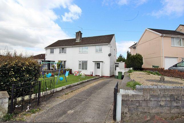 Thumbnail Semi-detached house for sale in Heol Johnson, Talbot Green, Pontyclun, Rhondda, Cynon, Taff.