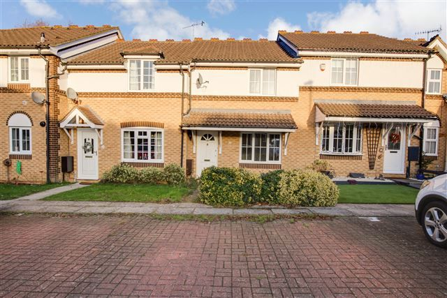 Thumbnail Terraced house to rent in Goddard Close, Maidenbower, Crawley
