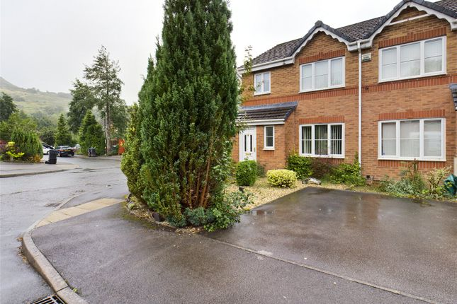 Thumbnail End terrace house for sale in Victoria Avenue, Victoria, Ebbw Vale, Gwent