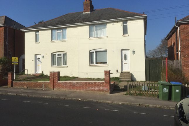 Thumbnail Semi-detached house to rent in Harefield Road, Southampton