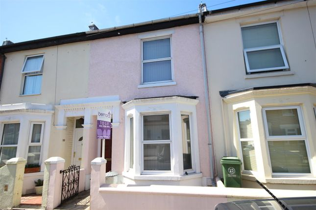 Thumbnail Terraced house to rent in Bath Road, Southsea, Portsmouth