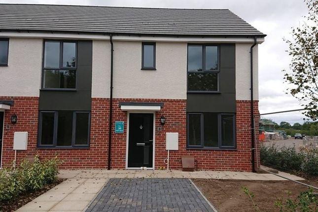 Thumbnail Town house to rent in Old Saffron Lane, Knighton Fields, Leicester