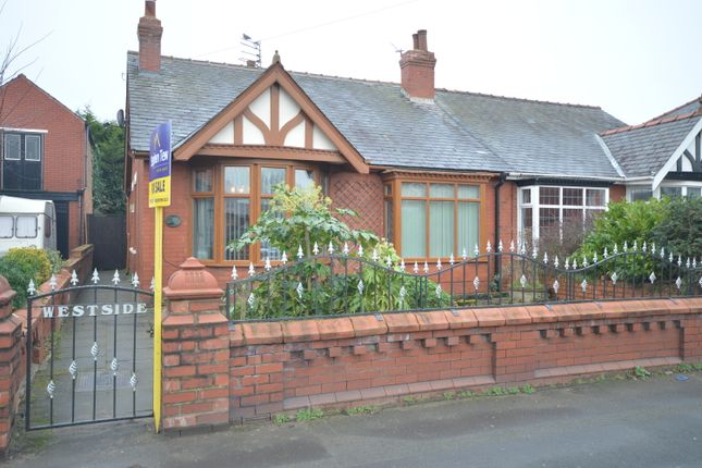 Thumbnail Semi-detached bungalow for sale in Hawes Side Lane, Blackpool