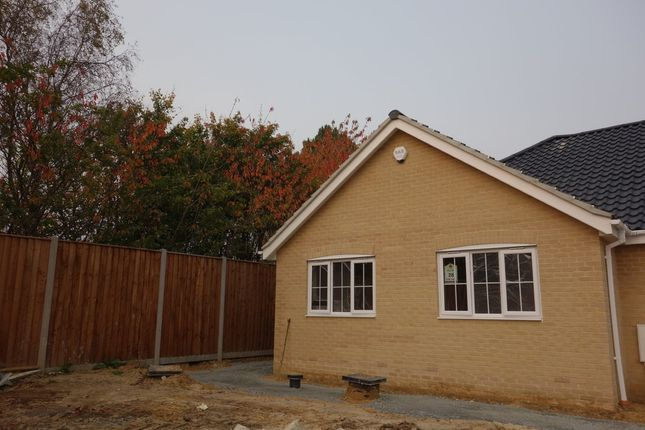 Thumbnail Terraced bungalow for sale in Heritage Green, Kessingland, Lowestoft